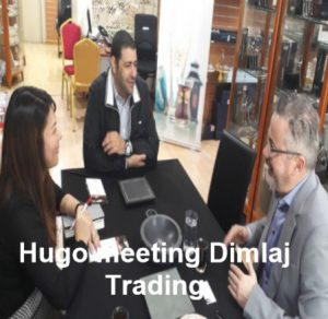 hugo meeting dimlaj CEO