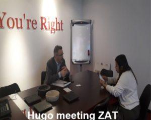 hugo meeting zat