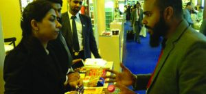 vendors at Gulf Food Exhibition