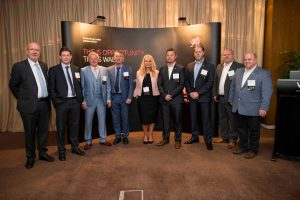 partners at welsh exports business reception
