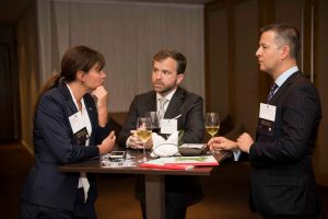 merchants at welsh exports reception