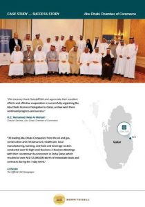 Abu dhabi chamber of commerce success stories