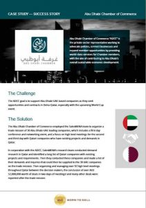 Abu dhabi chamber of commerce case study presentation