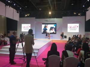 exhibition held for Beautyworld Team