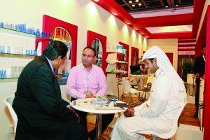 potential merchants at arab blast exhibition