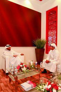 merchants at arab blast exhibition