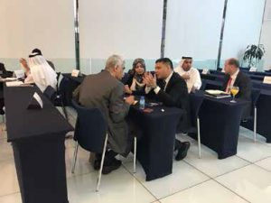 VIP buyers at Middle East Electricity Exhibition