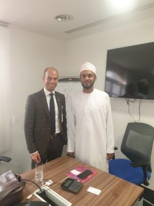 alizz islamic bank and web express meeting