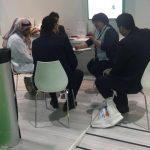 eman samy dhabi contracting with meeting izomaks