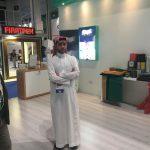 Falcon meeting Alshomoukh