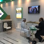 Mr Kamel of Al Shoumoukh meeting Plast bau