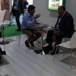 Mr Zaid of Al Deyar meeting maimani holding