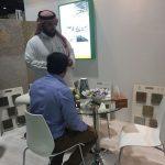 Mr zaid of Al deyar meeting Rekaz stone