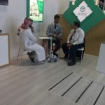 Shaikh naveed of shoumoukh meeting National Gypsum Company