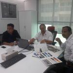 mr trevor meeting at gebal import trading